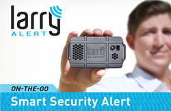 Larry Alert Mobile Security System
