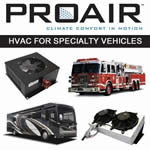 ProAir HVAC for Specialty Vehicles